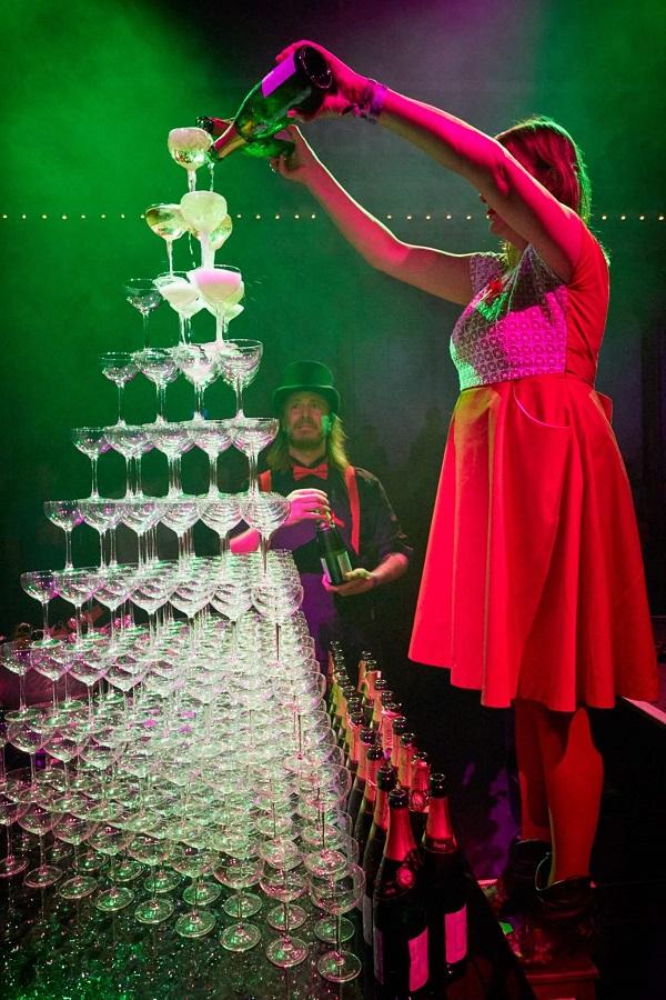 Champagnetoren uitlichten
